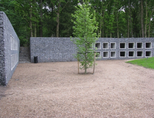 Mausoleum muur Lisse
