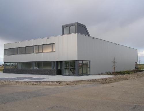 Nieuwbouw bedrijfspand Zaandam